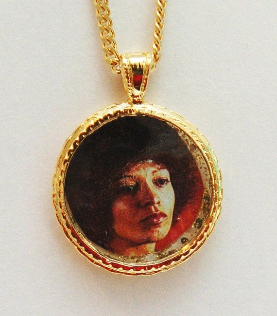 Angela Davis Lucky Charm Necklace