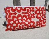Amy Butler Lotus Wallflower Zipper Pouch - Cosmetic Case - Pencil Case - Eyeglass Case