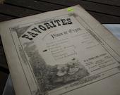 1882 Vintage Favorites, Pastorale Sheet Music