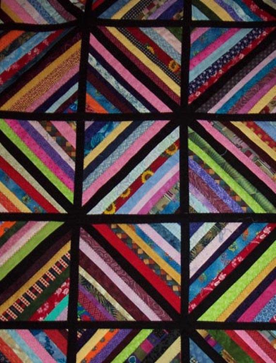 Queen-size String Quilt