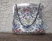 Western Germany Tapestry Purse Snake Chain