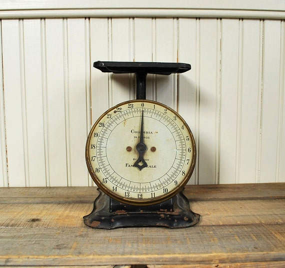 Antique Kitchen Scale By Route11vintage On Etsy