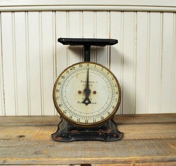 Antique Kitchen Scale: Antique Kitchen Scale