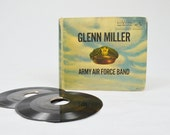 CLEARANCE - 50% OFF - 1950s Glenn Miller Army Air Force Band 15 - 45 EP Vinyl Box Set