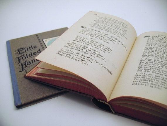 Pair of Antique Religious Books