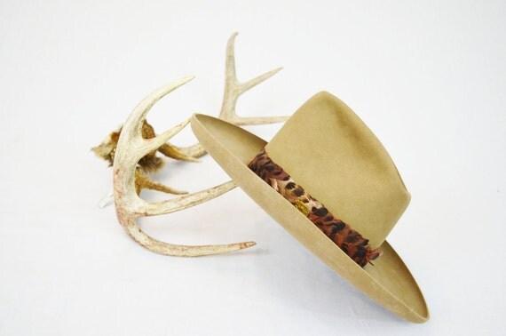 "Vintage Men's Resistol ""Stagecoach"" Felt Cowboy Hat - Size 6 3/4"