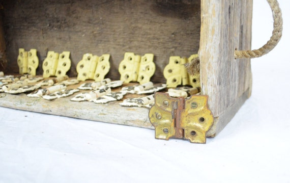 Set of 19 Antique Butterfly Hinges - Will Sell as Set or Individually