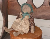Primitive Folk Art Early Prairie Doll