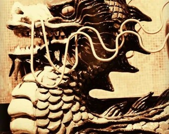 """Eastern Dragon Chinese New Year of the Dragon16x20 Fine Art Print """"Relic"""""""