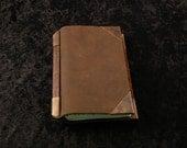 Brass corners pocket book