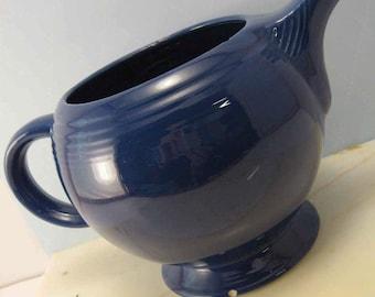 Teapot - Fiesta Teapot - Cobalt Blue - Missing Lid - Vintage Fiesta