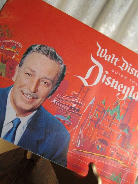Walt Disney's Guide to Disneyland Vintage Booklet 1961