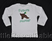 Personalized Baby Hunter Shirt