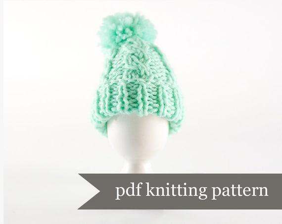 Egg Warmer Knitting Pattern. Egg Cozy Pdf Pattern. Digital Download. Simple Beginners Project Tutorial Wool