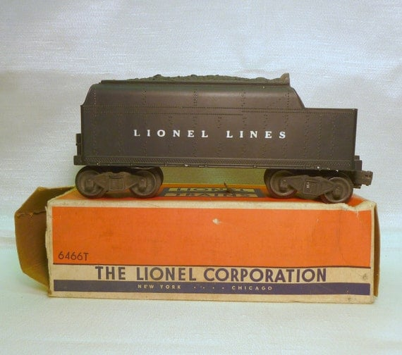 50s Lionel Coal Car 6466t With Original Box