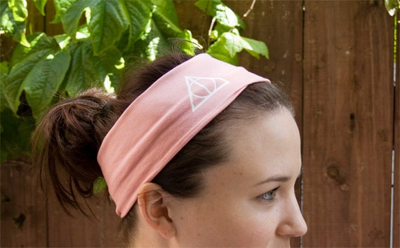 CHOOSE COLOR - ONE Deathly Hallows Headband