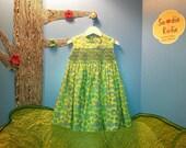 Green Circles Dress, Size 3