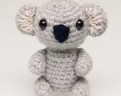 Amigurumi Koala Bear (in 3 sizes) Crochet Pattern PDF