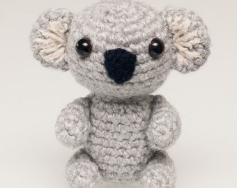 Amigurumi Koala Bear (in 3 sizes) Crochet Pattern PDF