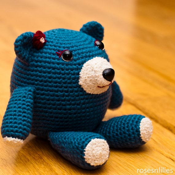 Amigurumi Teddy Bear Crochet Pattern PDF - Perfect Childs Toy or Gift