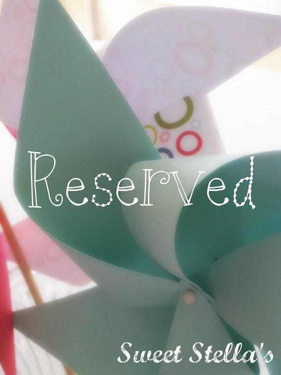 Reserved Listing for D. Wozniak