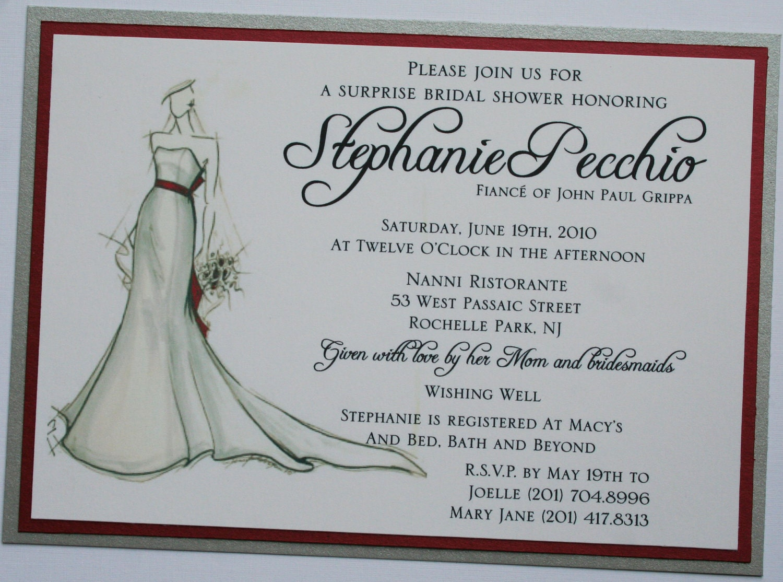 Bridal Shower Invitations Bridal Shower Invitation Wording Ideas Wishing Well