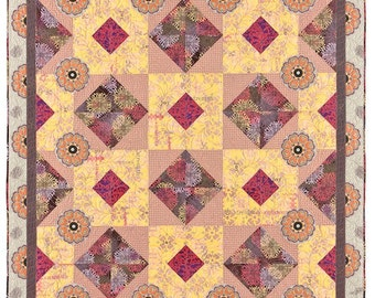 Medallions Quilt Pattern