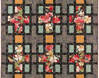Through The Window Quilt Pattern