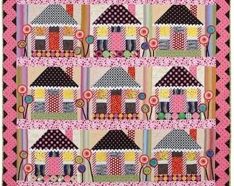 Sugarplum Village Quilt Pattern