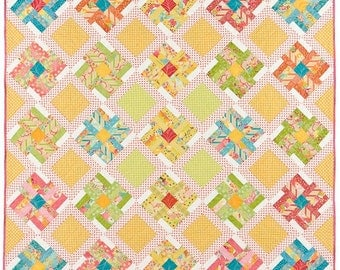 Spring Blooms Quilt Pattern
