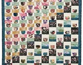 Asian Teacups Quilt Pattern