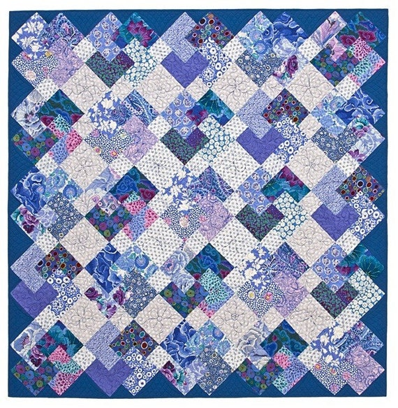 Simple Tricks Quilt Pattern By Lnownes On Etsy
