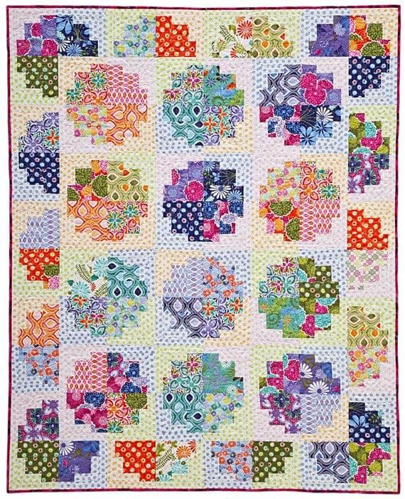 Sweet Rolls Quilt pattern