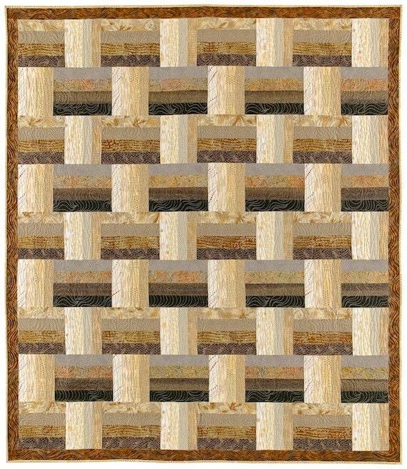 Easy Basket Weave Quilt Pattern : Basket weave quilt pattern