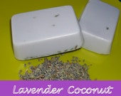 Lavender Coconut Soap 3.5 oz. Aromatherapy Bar SALE