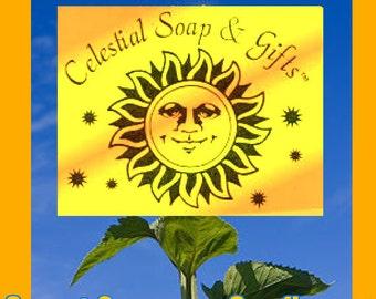 Sweet Orange & Sunflower Natural VEGAN Laundry Soap Powder Bag 40-80 LOADS Gross Wt. 44oz.