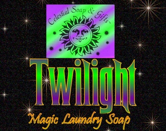 6 oz. TWILIGHT Natural Vegan Laundry Soap Powder SAMPLE 6 oz. 5-10 Loads