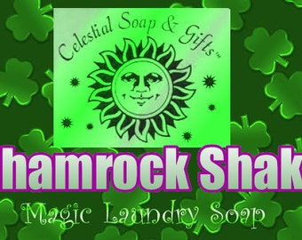 Shamrock Shake VEGAN Laundry Soap Powder 6 oz. SAMPLE 5-10 Loads