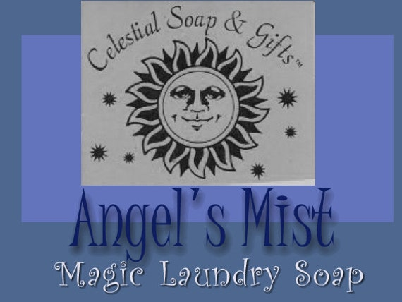 Angel's Mist Natural VEGAN Laundry Soap Powder Bag -  40-80 LOADS Gross Wt.  44 oz. Detergent