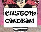 Custom order for Anita & Friends