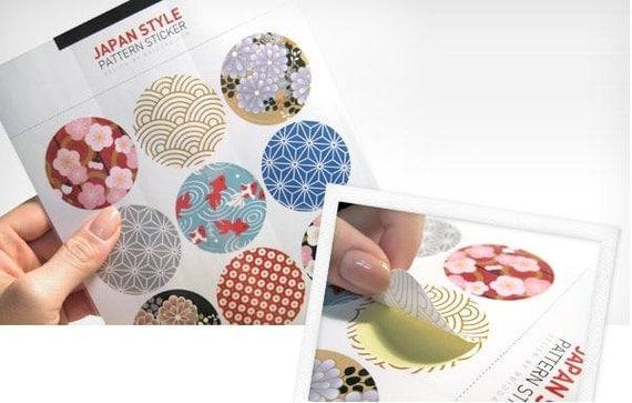 Japan Style Pattern Sticker