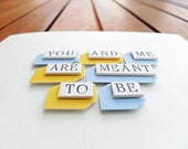 You and Me are Meant to be - Love & Anniversary Card