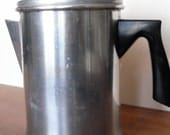 FREE SHIPPING Vintage stove top coffee maker percolator