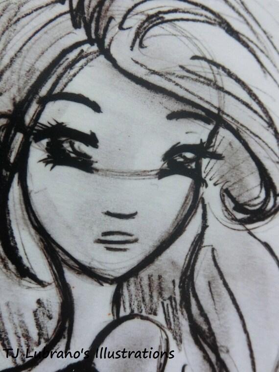Art Print Sketch Dream Big
