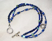 Multi-Strand Lapis Bracelet