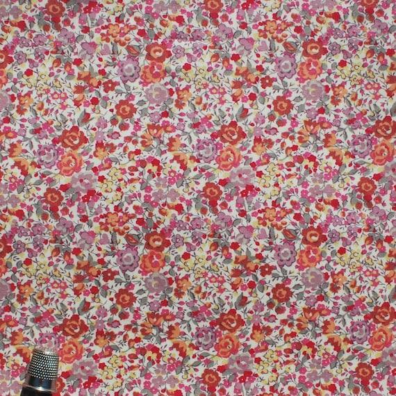 "Liberty Tana Lawn fabric EMMA & GEORGINA - 26"" wide x 10"" (67cm x 25cm)"