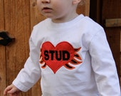 Valentine's Shirt for Your Little Man