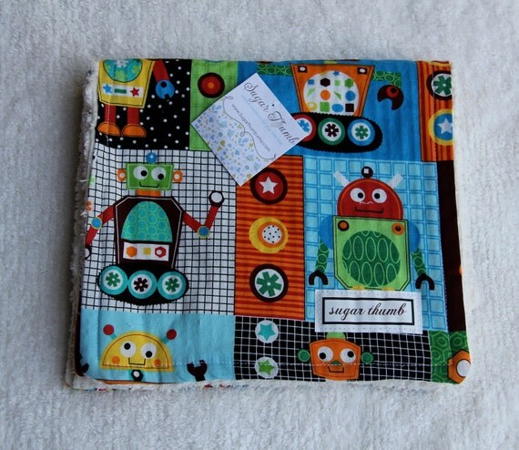 Chenille Burp Cloth - set of two