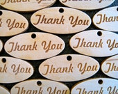Pine Thank You Tags