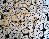 Custom Laser Engraved Buttons